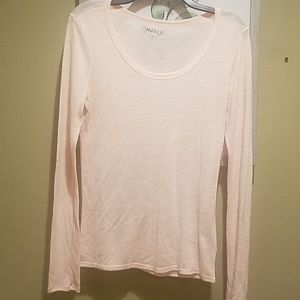 Long sleeve knit tee
